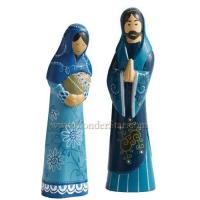 Cheap Nativity Scenes Heavenly Blue Nativity Set Indonesia for sale
