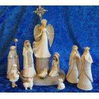 Cheap Nativity Scenes Hark the Herald Angels Sing Nativity Set for sale