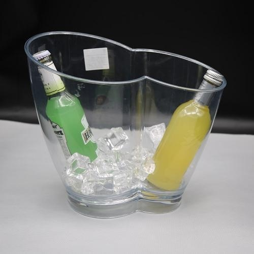 Quality Ice Bucket Jixi Selled will in EU champagne clear acrylic ice bucket wholesale