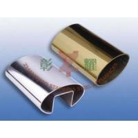 China Single Grooved Oval Tube on sale