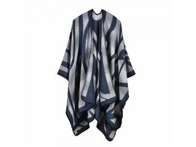 China 2017 LADY'S WINTER SCARF AND PONCHO STYLE