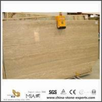 Cheap Cream Marfil Marble Composite Flooring Tile with Porcelain for sale