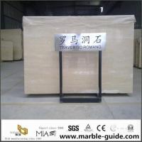 Italian Roman Travertine Slab For Bathroom Flooring Tile Countertops With Luxury Good Quality