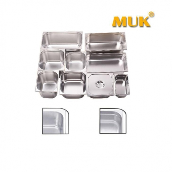Quality High Quality Stainless Steel Gastronome Container GN Food Pans wholesale