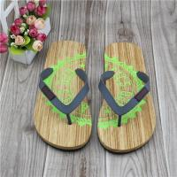 Buy cheap Fashion Embossed Eva Cork Sandals Flip Flops from wholesalers