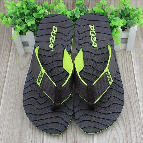 Quality Suitable for Foots Use Soft EVA Material For Men's Flip Flop Slippers wholesale