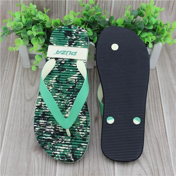 China Summer Mens Flat Camo Sandals