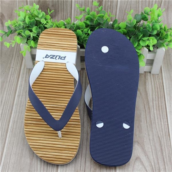 Quality Eco-friendly Beach Style EVA Cork Surfer Slippers wholesale