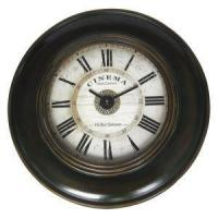 Buy cheap Oversized Black Vintage Wooden Living Room Wall Clocks from wholesalers