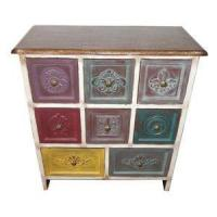 Buy cheap Large Wooden Bedroom Chest of Drawers Vintage Storage Cabinets from wholesalers
