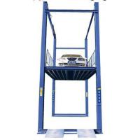 Buy cheap china Hydraulic Four Post Car Elevator Machine For Basement Car Parking from wholesalers