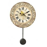 Buy cheap Small Plastic Decorative Pendulum Wall Clocks for Sale from wholesalers