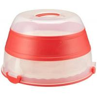 Cheap Prepworks by Progressive Collapsible Cupcake and Cake Carrier - Red for sale
