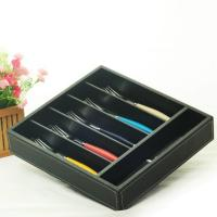 Cheap hollow out bamboo cutlery tray for sale
