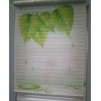 Cheap Printed Fabrics For Shangrila Blinds Triple Sheer Shades Silhouette for sale