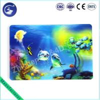 Cheap 3D effect PP lenticular table mat Placemat of Sea scenery for sale