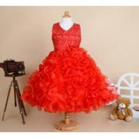 Cheap one piece baby girl party wear korean girl lace frock design dress for... Flower girl dress for sale