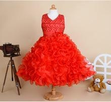 China one piece baby girl party wear korean girl lace frock design dress for... Flower girl dress