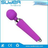 Magic Wand Waterproof Massager 10 speed Silicone Cordless Rechargeable G-spot Vibrator