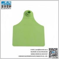 Cheap Chinese high quality livestock big size cattle ear tags for sale