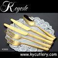 Cheap set of cutlery stainless steel 18/10,cutlery set,gold cutlery set for sale