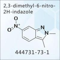 Buy cheap 2,3-dimethyl-6-nitro-2H-indazole from wholesalers