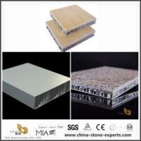 China Aluminium Honeycomb Panel Composite Tile with Marble for Kitchen & Bathroom Design on sale
