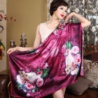 Cheap 110*110 Square 100%Silk Scarf for sale