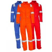 Buy cheap Safety fire retardant coverall from wholesalers