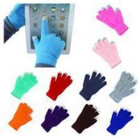 Cheap wholesale touch screen gloves with good price wholesale