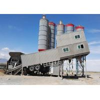 Cheap Green Mobile Concrete Mixing Station for sale