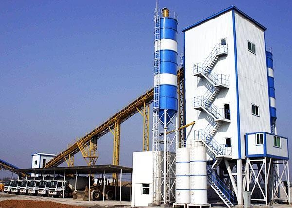 China Common Commercial Concrete Mixing Station