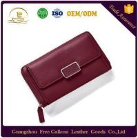Cheap High quality Clutch bag Ladies long Wallets Purses holder slim women wallet leather for sale