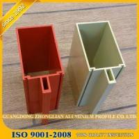 Cheap Anodized Matt And Various Color Extruded Construction Aluminium Profile for sale