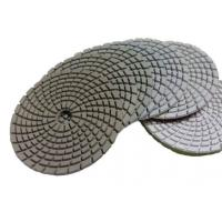 Cheap Curved White Diamond Polishing Pad for sale