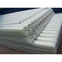 China FRP Corrugated Sheet with Even Thickness and High Strength on sale