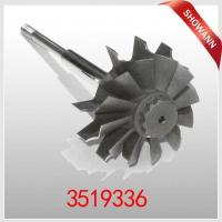 Cheap HX35 HX35W H1C Turbocharger Turbine Wheel & Shaft 3519336 for sale