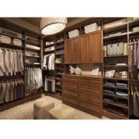 Cheap Traditional Solid Wood Armoire Walk in Storage Open Wardrobe for sale