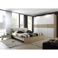 Cheap Modern White Gloss Bedroom Furniture With Lacquer Wardrobe, White Bedroom Set, Armoire for sale