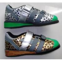 Cheap 1137 Leopard Weightlifting Shoes for sale