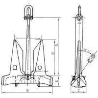 Cheap AC 14 STOCKLESS ANCHOR for sale