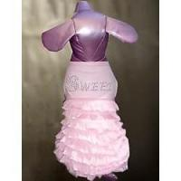 China Dogs Sweet Rhinestone Doggie Dress: Wholesale Dogs Pet Apparel Dresses Products on sale