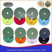 Buy cheap 100mm Dry Polishing Pad, Flexible Diamond Polishing Pads for Marble and Granite from wholesalers