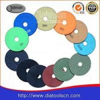 Buy cheap 100mm Wet Diamond Polishing Pads for Marble or Granite or Other Stones from wholesalers