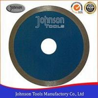 Buy cheap 105mm Sintered Diamond Wet Cutting, Continuous Rim, Ceramic Tile Cutting Saw Blade from wholesalers