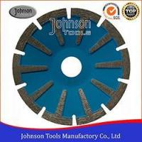 Buy cheap 105-180mm Dry or Wet Sintered Concave Blade, T Shaped Segment, Granite Cutting Saw Blade from wholesalers