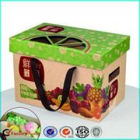 Cheap Corrugated Cardboard Fruit Caron Boxes Packing for sale