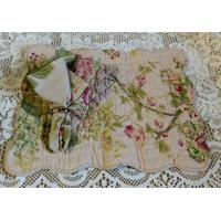 Cheap Large Roses Quilted Placemat and Matching Napkin for sale