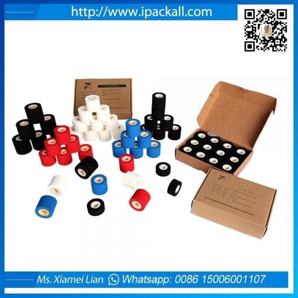 Quality Hot Soild Red White Black Blue Ink Roll wholesale