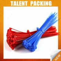 Cheap Disposable Plastic Zip Binding Nylon Cable Tie for sale